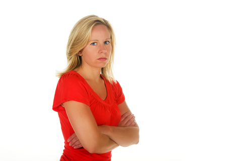 woman angry divorce moving on